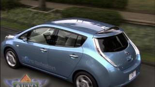 Nissan Unveils 100 Mile Range Electric