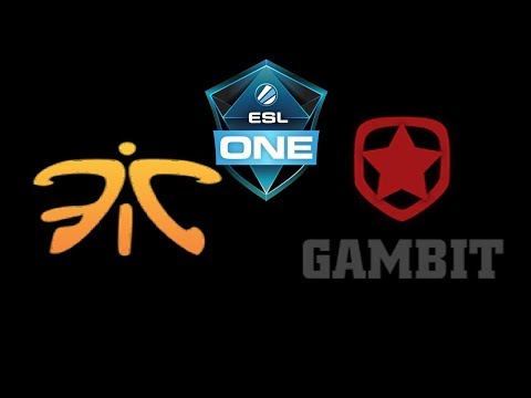 Fnatic vs Gambit Esports ESL One Katowice 2019 Highlights Dota 2