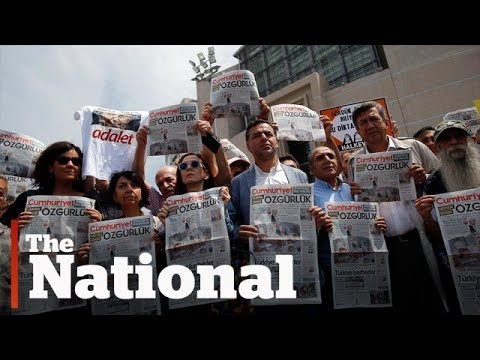 Turkish government takes journalists to court