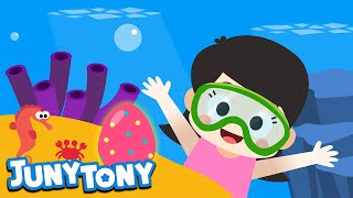 Easter Egg Hunt | Easter Songs | Kids Songs | Nursery Rhymes | JunyTony