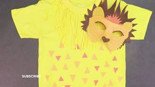 DIY Lion Costume and Mask   Michaels