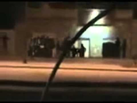 Stealing Operation by militia in Tunisia 14-01-2011