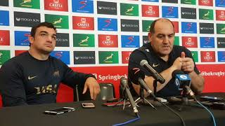 @LosPumas coach Mario Ledesma on his team's Rugby Championship opening loss