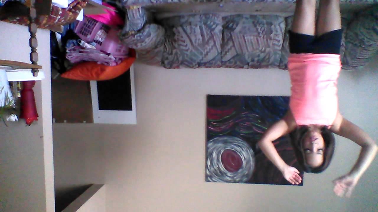 Baylees audition for seven gymnastics girls - YouTube