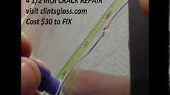 Windshield Crack Repair / Auto Glass Cracking (houston repair)