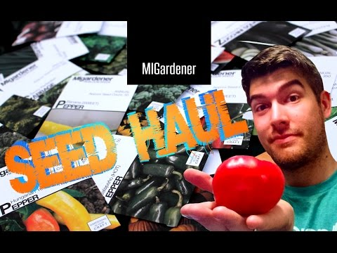 SEED HAUL from MIGardener!