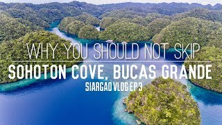 EXPERIENCE THE BEAUTY OF SOHOTON COVE, BUCAS GRANDE (Drone Shots) | Siargao Vlog Ep 3