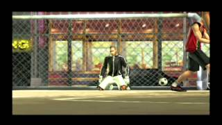 Fifa Street (PS2) gameplay