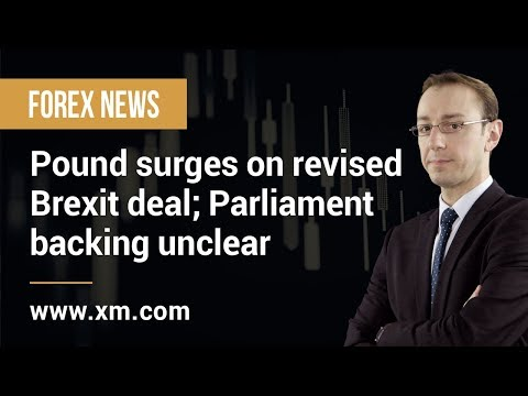 Forex News: 12/03/2019 - Pound surges on revised Brexit deal; Parliament backing unclear