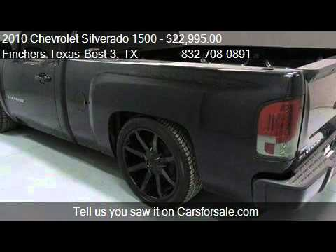 2010 Chevrolet Silverado 1500 Lt Truck For In Houston