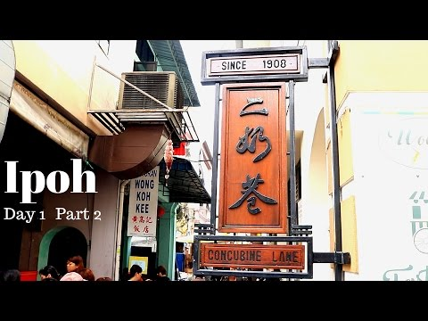 Ipoh Travel and Feast #25 - Famous Caramel Custard, Popiah, Pork satay in Concubine lane.