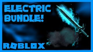 BUYING THE NEW ELECTRICITY BUNDLE IN ROBLOX ASSASSIN