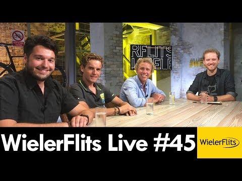 WIELERFLITS LIVE #45 Rob Ruijgh en Michael Boogerd