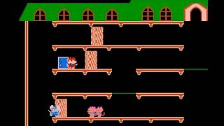 Mappy - Mappy NES - User video