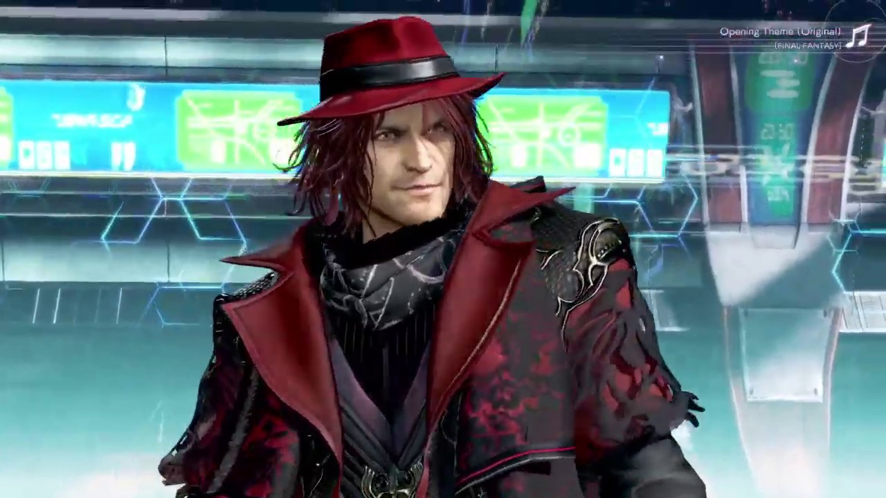 Ardyn Final Fantasy XV Gameplay in DISSIDIA final fantasy