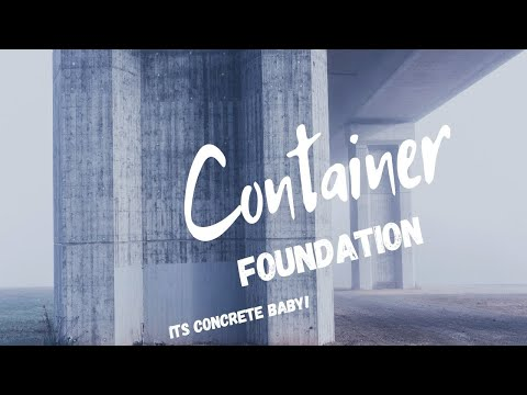 Container Home Foundation Piers
