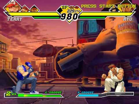 Capcom Vs SNK 2: Millionaire Fighting 2001 (Dreamcast) With Commentary