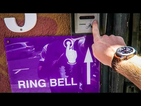 Ring bell for massage!