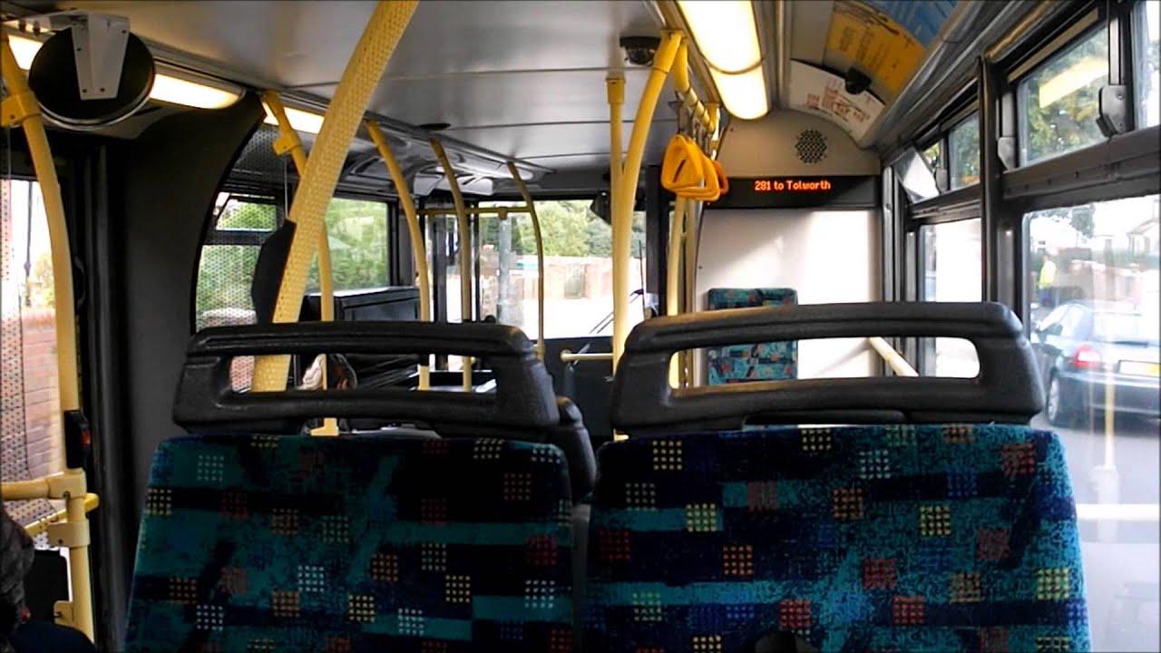 route 281 (ta224 sn51szt) dennis trident 2 9.9m/alexander alx400