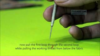 Chain stitch -Ari/Karchobi/maggam work