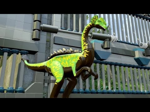 LEGO Jurassic World - Troodon Unlock Location + Gameplay (Skeleton & Custom Dinosaur)