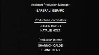 Ozzy & Drix end credits Cartoon Network English