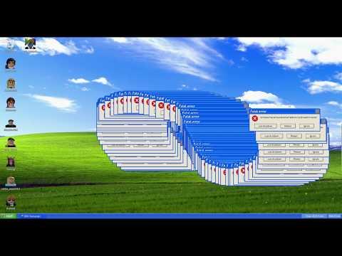 WINDOWS 10 ЧТО С ТОБОЙ ⁉ Новые ошибки виндовс после обновления Roblox Error Simulator 7 XP OS
