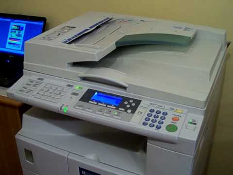 copiadora ricoh aficio 2015 youtube rh youtube com Ricoh Aficio Printer Manual ricoh aficio 2015 manual