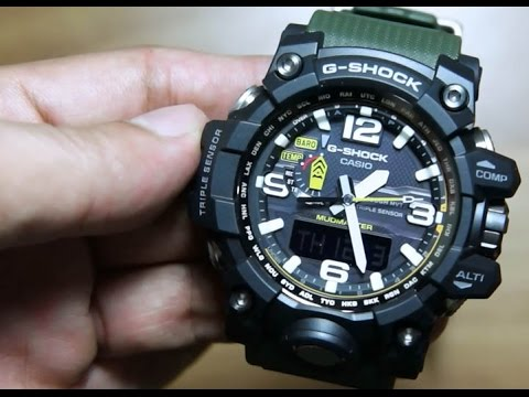 Часы Casio G-Shock Gwg-1000-1A