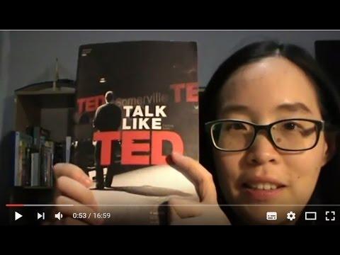 รีวิวหนังสือ Talk like TED - ทำสิ่งที่คุณรัก คือ ส่วนหนึ่งของการพูดที่ดี