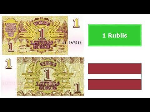 Latvian rublis (LVR)