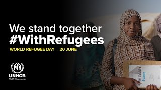 #WithRefugees | Tinalbarka dreams of becoming a lawyer