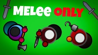 Melee *ONLY* Challenge! Surviv.io UPDATE with Melee Weapons!