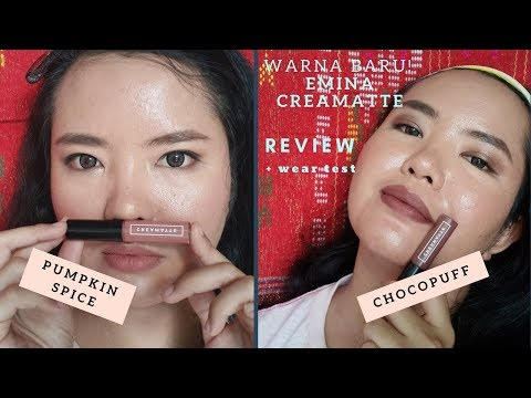 emina-creamatte-liquid-lipstick---2-new-shades---review-&-wear-test
