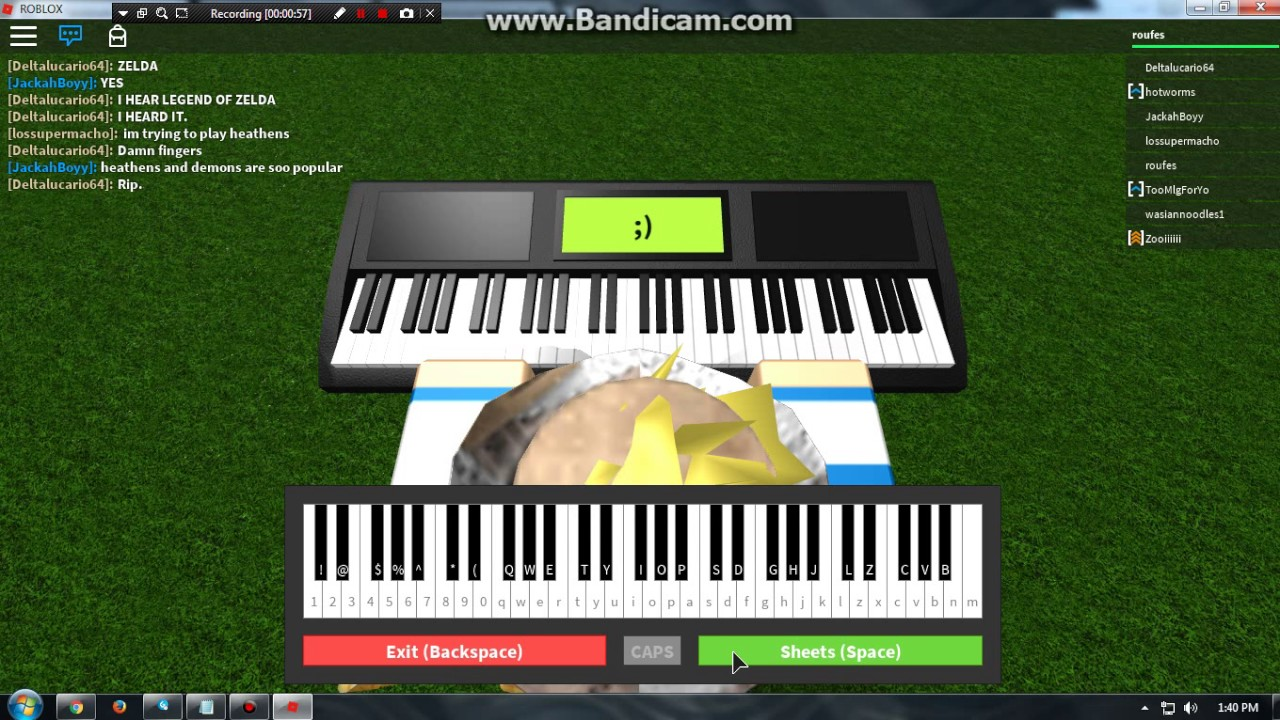 Roblox Piano Sheets For Demons Roblox Free Music