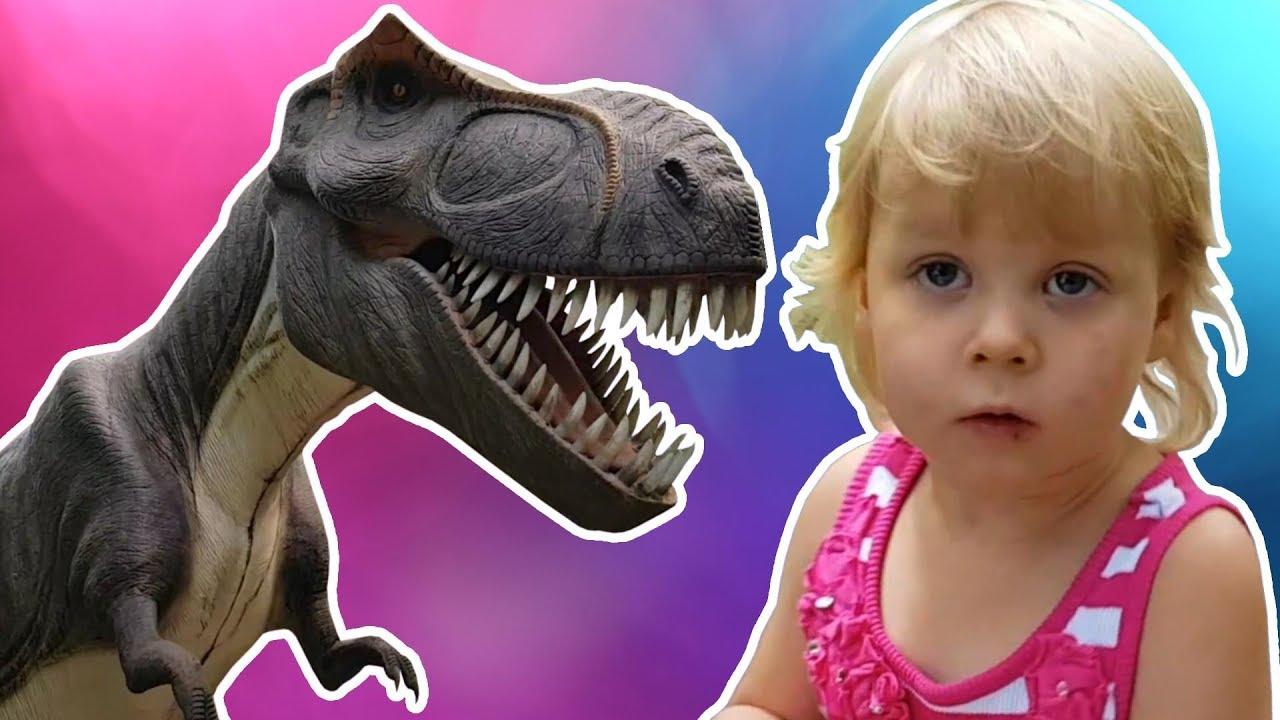 I Took My Kids to the Animated Dinosaur Park (Zatorland) Near Krakow, Poland