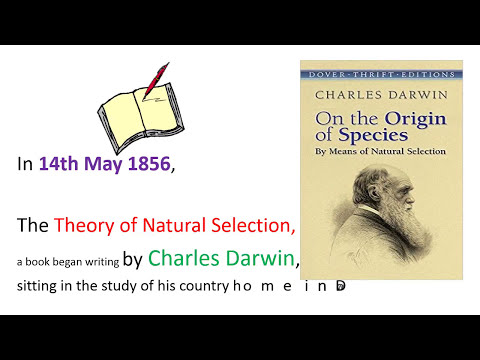 Origine of Species by Darwin 14 May  Science Greed