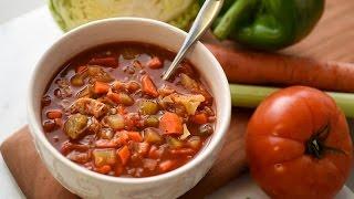 Crockpot Vegetarian Cabbage Soup Recipe