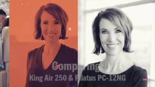 Private Aviation Insiders' Guide Aircraft Comparison: Pilatus PC-12NG vs. King Air 250