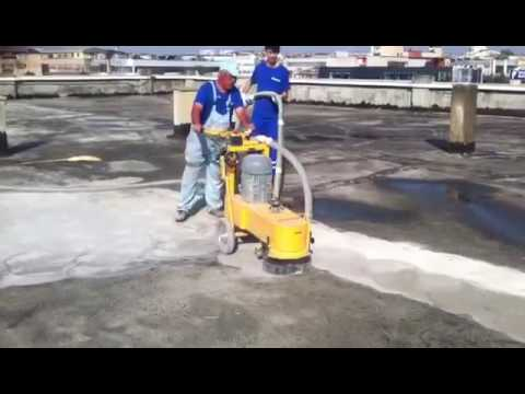 ŞEN-MAK Beton Silim Makinası ( Concrete Grinding Machine )