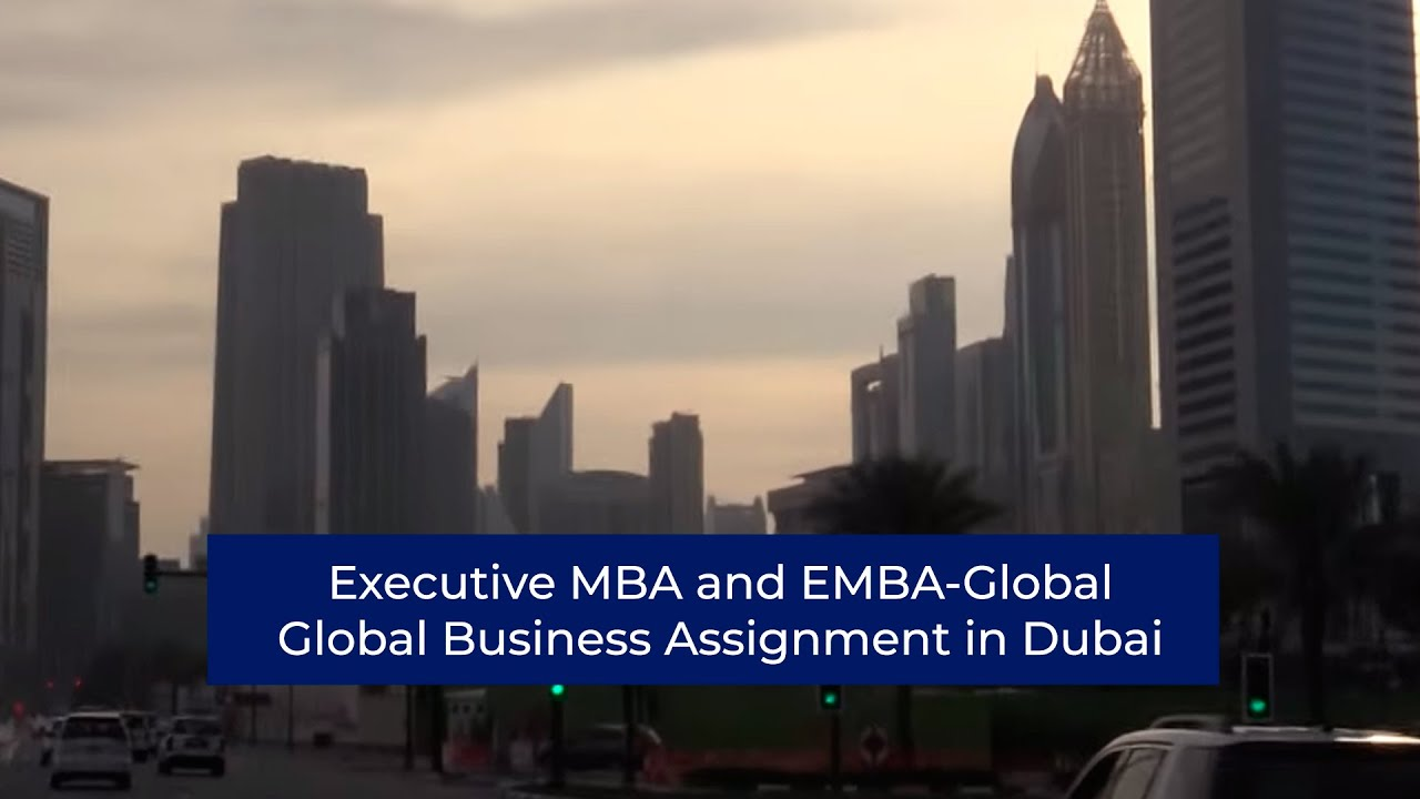 Mba thesis on international business