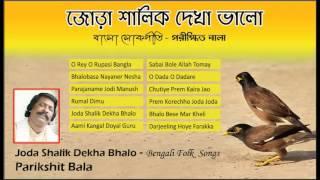 parikshit bala | Bengali Folk Songs | Joda Shalik Dekha Bhalo | Bengali Songs by Parikhit Bala
