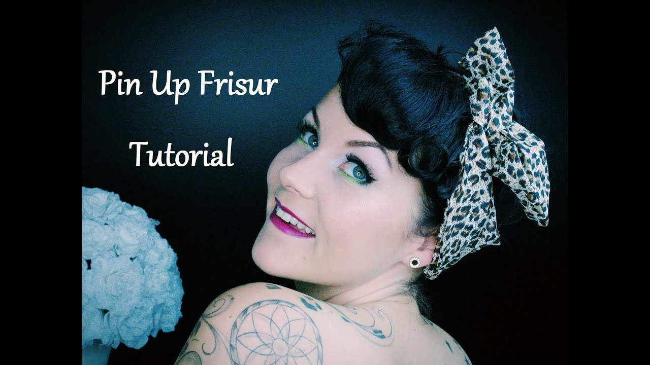 Pin Up Frisur Tutorial Mit Nicole 2 Styles Outtakes YouTube