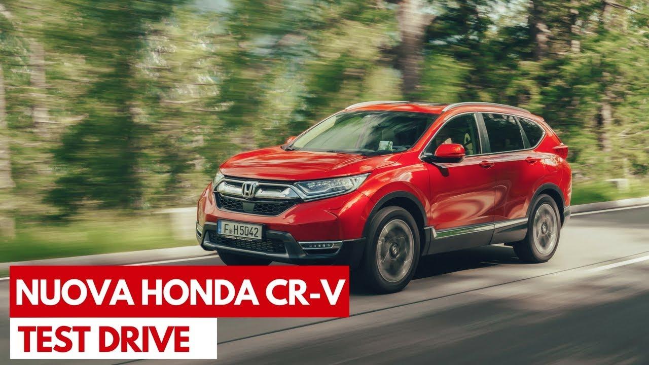 Honda CR-V 2018 E L'addio Al Diesel I Test Drive In