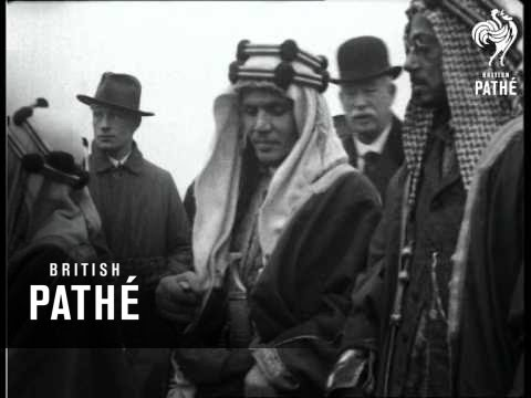 "Arab Chiefs Visit The ""Deutschland""  (1919)"