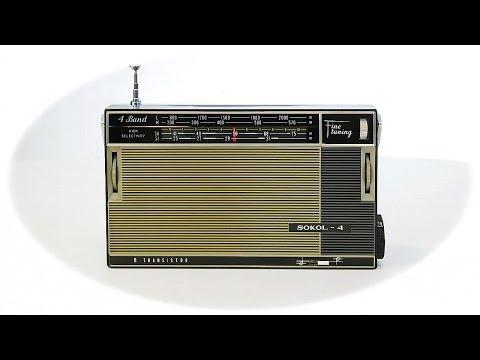 Обзор Радиоприемник Сокол-4 СССР 1967 год