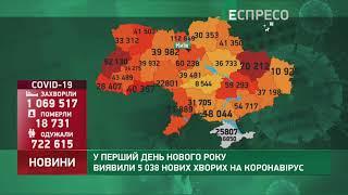 Коронавірус в Украі ні статистика за 2 січня