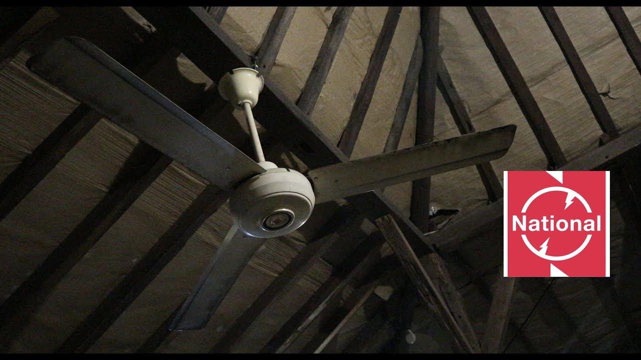 56 national industrial ceiling fan youtube 56 national industrial ceiling fan aloadofball Images