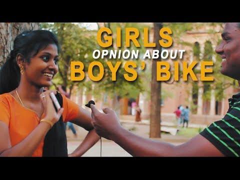 Girls Opinion About Boys' Bike | A Frank Talk Show #13 | Madurai360