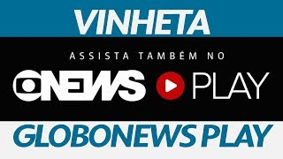 "Vinheta Pós-programas ""assista Também No Globonews Play""  2017"